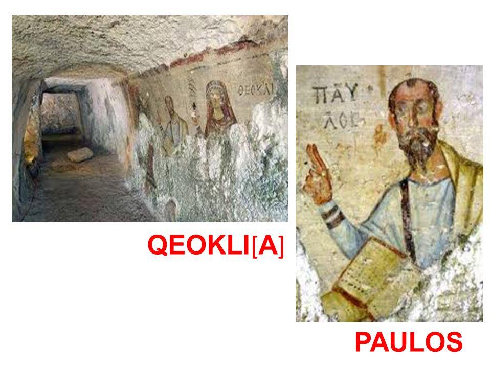 QEOKLI[A] PAULOS
